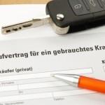 Auto Kaufvertrag