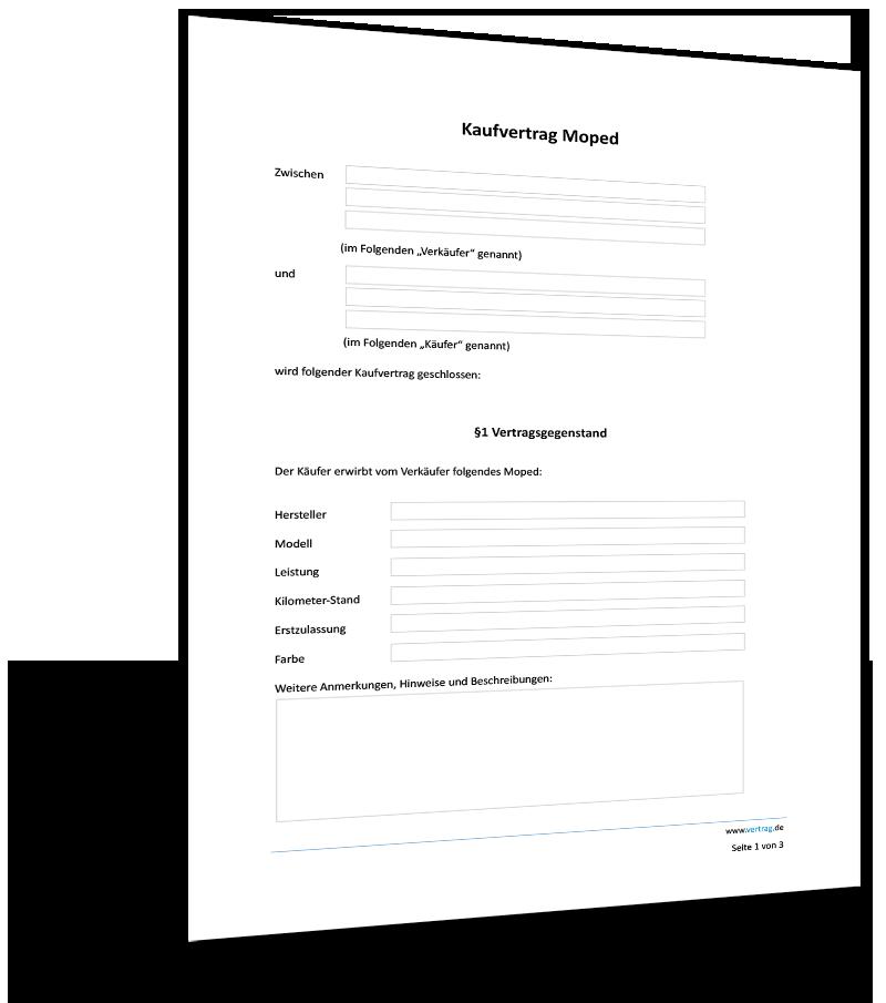 Kaufvertrag Muster Gebrauchtes Motorrad Gratis Vorlage 9